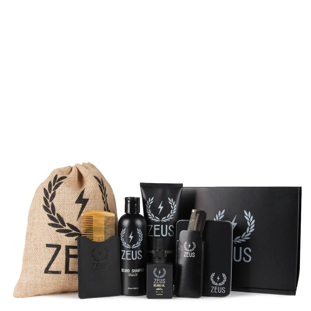 ZEUS Executive Beard Care Kit, Vanilla Rum