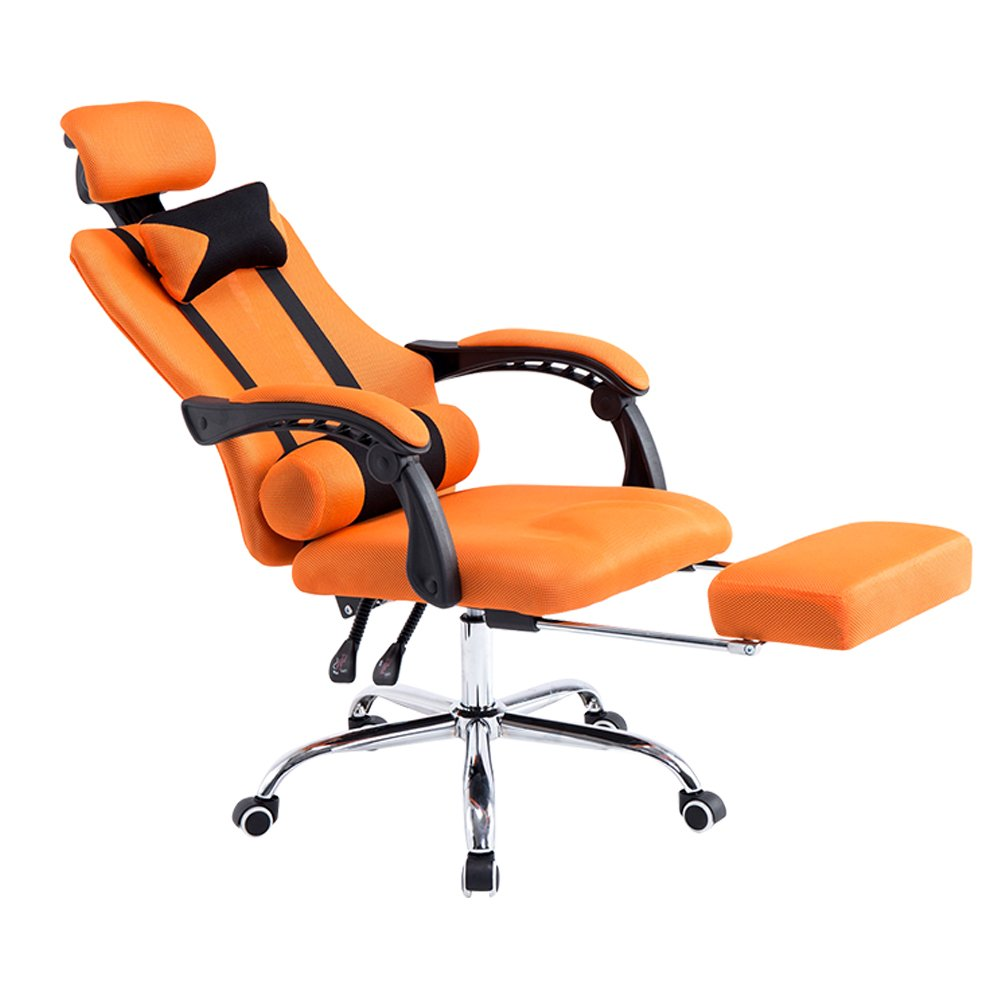 Genial Amazon.com: Baymate Gaming Computer Ergonomic Racing Chair Reclining Game  Office Chairs With Footrest Orange: Kitchen U0026 Dining