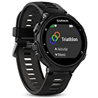 Garmin Forerunner 735XT Reloj Multisport con GPS, Tecnología Pulsómetro Integrado, Unisex, Standalone, Negro y Gris