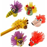 U.S. Toy 2152 Wild Animal Pencil Tops