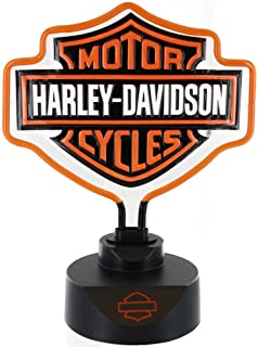 Harley Davidson Bar U0026 Shield Neon Lamp   14 1/2in.