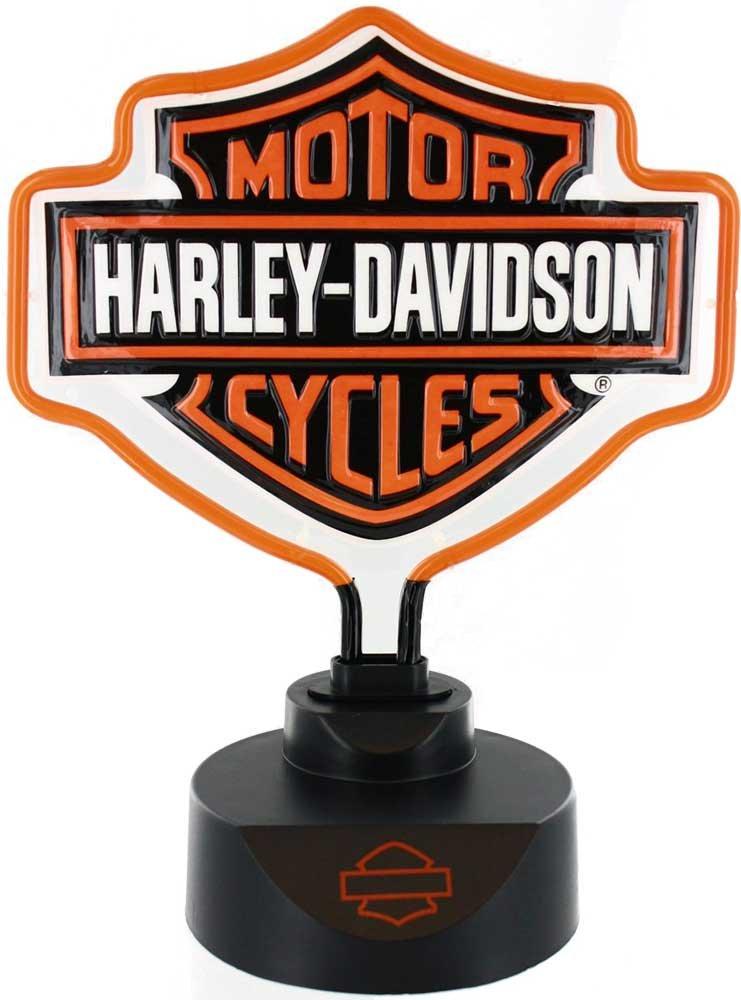 - Harley-Davidson Bar & Shield Neon Lamp - 14 1/2in.H - - Amazon.com