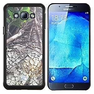 YiPhone /// Prima de resorte delgada de la cubierta del caso de Shell Armor - Planta Naturaleza Forrest Flor 88 - Samsung Galaxy A8 A8000