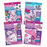 Melissa & Doug Mess-Free Glitters Foam Beads/Bracelets/Frames/Tiara & Wand (4 Pack)