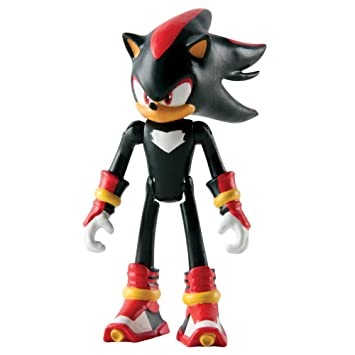 Sonic The Hedgehog Figura articulada del personaje Shadow the Hedgehog de la serie Sonic Boom,