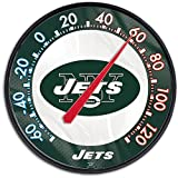 Jets WinCraft NFL Round Thermometer