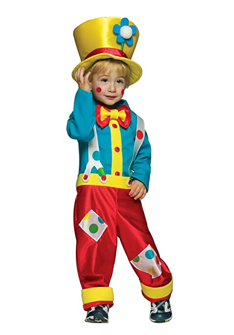 Amazon.com: Clown Boy Child Costume: Clothing