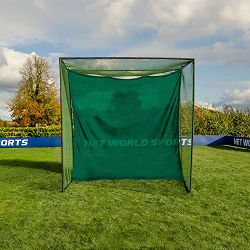 Replacement 10ft X 10ft Archery Grade Golf Impact Panel Netting (Green) – Super Strong Nets Guaranteed To Protect Your Golf Practice Cage From Damage [Net World Sports] by Net World Sports (Image #6)