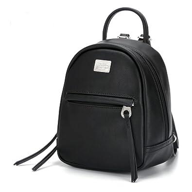 Amazon.com: Women Mini Backpack Female PU Shoulder Bags ...