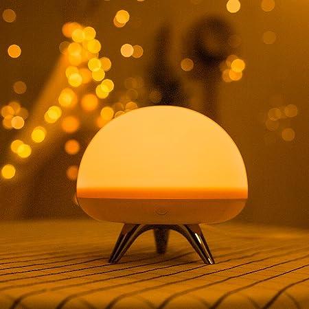 Aokarlia Led Nachtlicht Beruhrungssensor Dimmare Atmospharen Lampe
