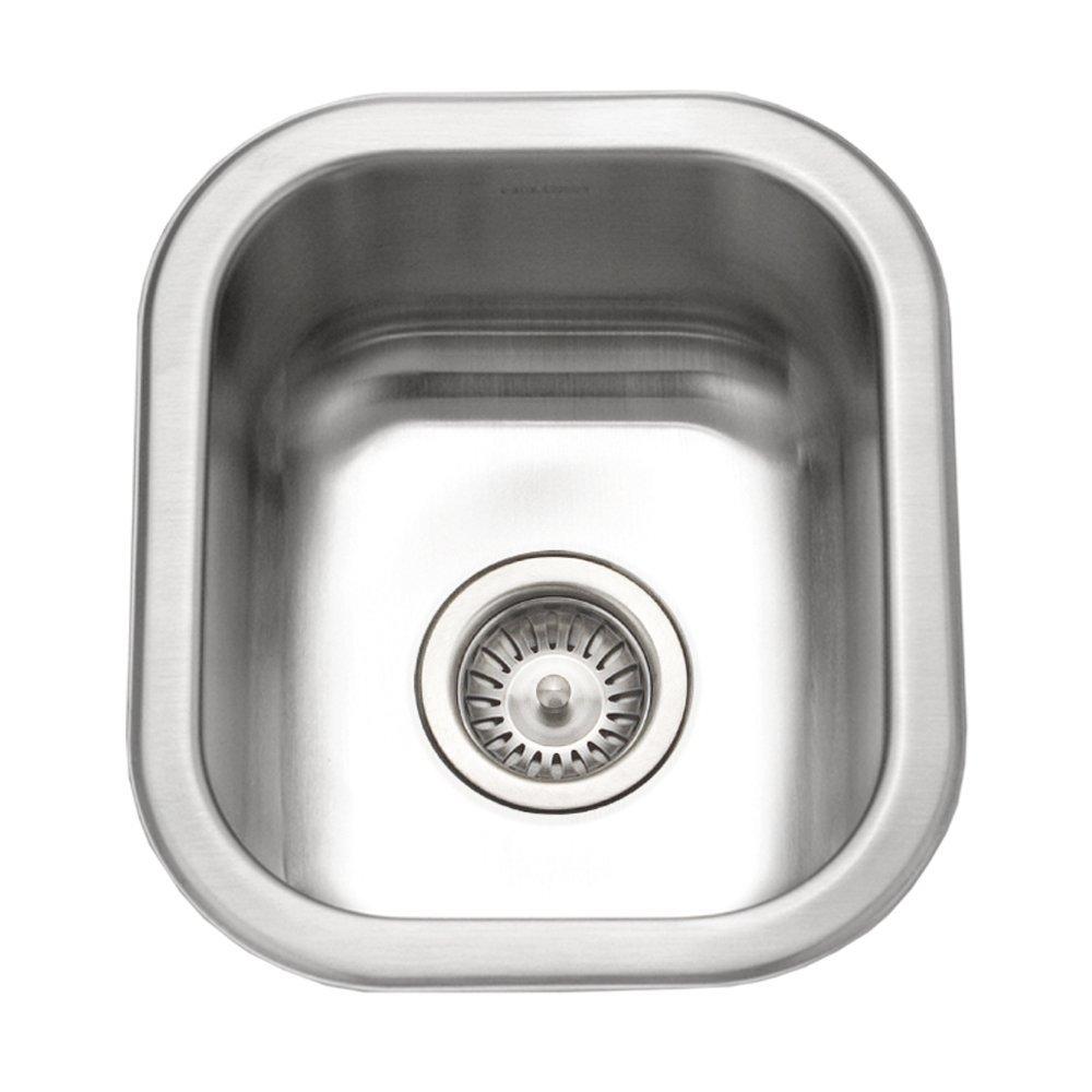 Houzer CS-1307-1 Club Series Undermount Small Bar/ Prep Sink (Renewed) by HOUZER
