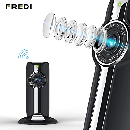 1080P HD WiFi Cámara IP Cámara para Mascotas Seguridad cámara IP CAM Vigilancia Fredi WiFi Cámara