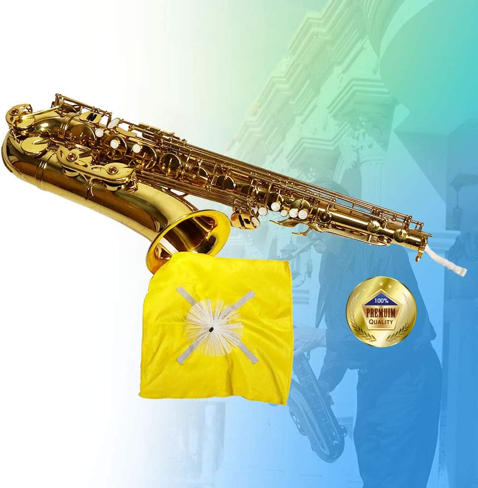 Best to Clean and Extend the Life of your Instrument AC008 Libretto Alto Saxophone Swab