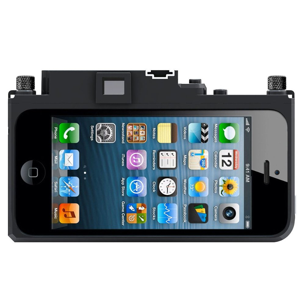 Amazon GIZMON Camera Design Case Cover For Apple IPhone5s IPhone5 ICA5 MILITARY