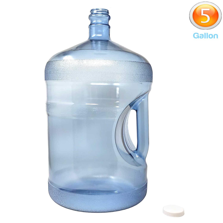 LavoHome BPAフリー 再利用可能 プラスチック ウォーターボトル ジャグコンテナ (5ガロン) アメリカ製   B07N8HBH78