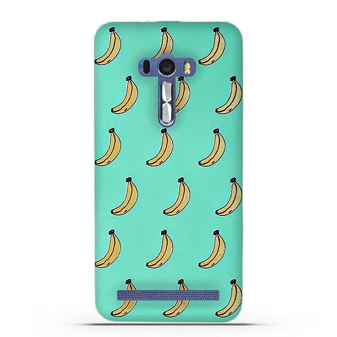 10 opinioni per FUBAODA ASUS ZenFone Selfie ZD551KL Cover, Carina 3D Rilievo UltraSlim TPU Skin