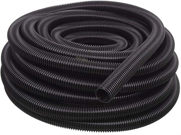 Negro Manguera De Conexi/ón para Aspiradora D- 2m Negro 32mm Fenteer Manguera Flexible De Pl/ástico para Aspiradora De 3 M // 2 // M
