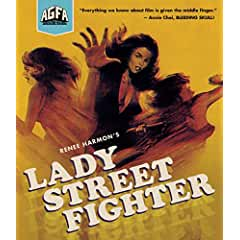 Lady Street Fighter arrives on Blu-ray August 14th from AGFA and MVD Entertainment