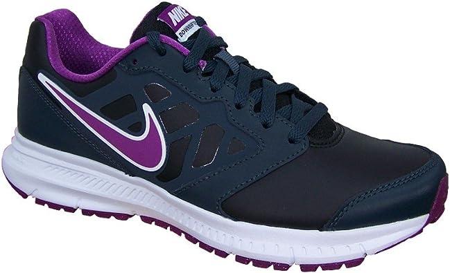 Nike Wmns Downshifter 6 Lea, Hombre -, Mujer, Downshifter 6 Lea Wmns, Negro, 41: Amazon.es: Deportes y aire libre