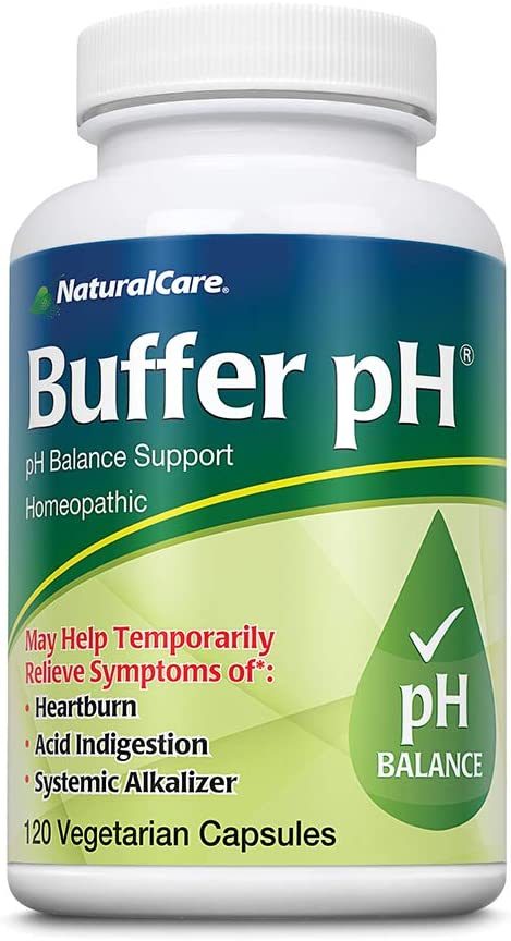 VAXA Homeopathic Medicinal Systemic Alkalizer for Buffering an Acid pH System, Buffer-pH, Capsules , 120 capsules: Health & Personal Care