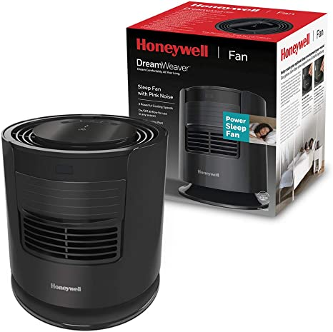 Honeywell HTF400 DreamWeaver Ventilador para dormir con ruido rosa ...