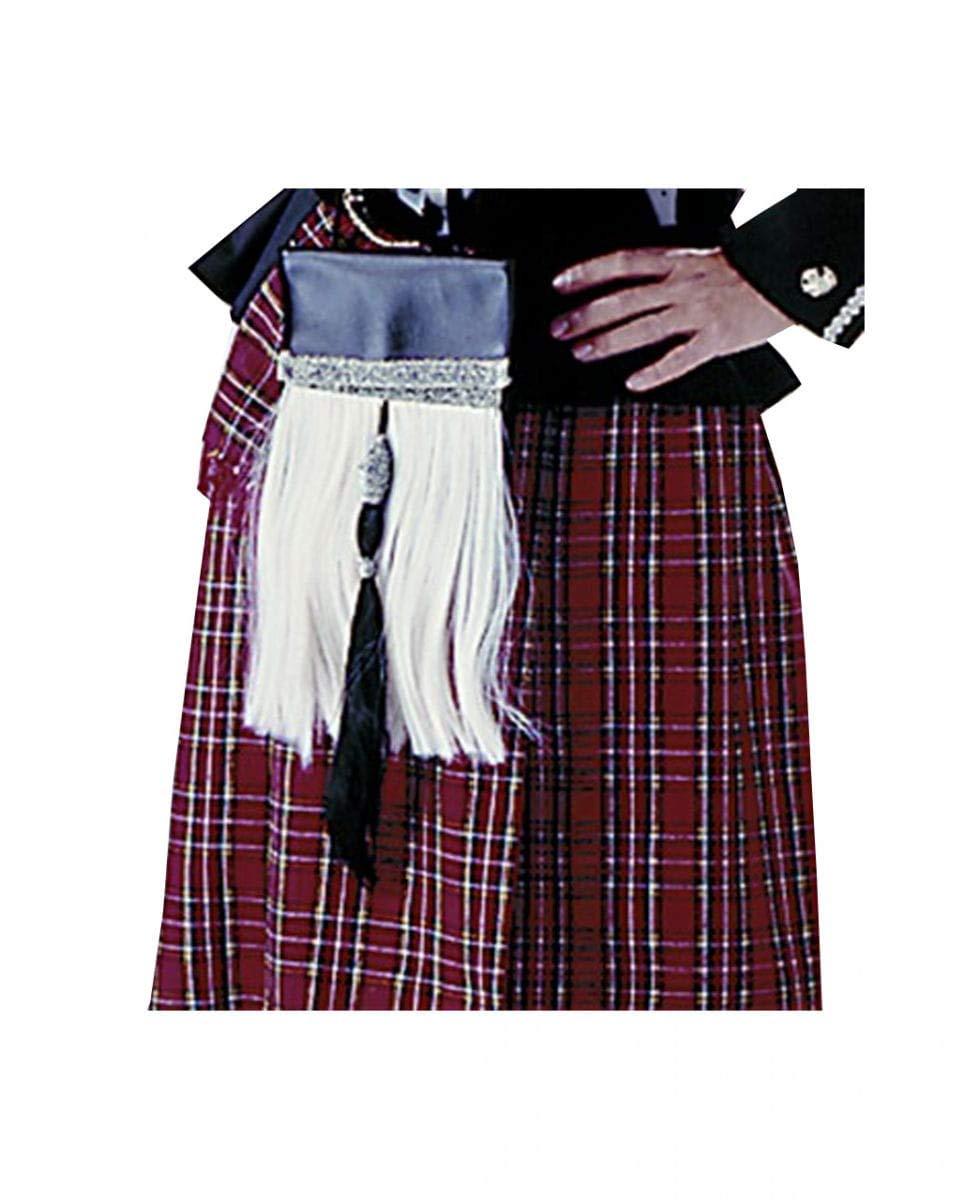 Horror-Shop bolsillo de los accesorios del traje escocés ...