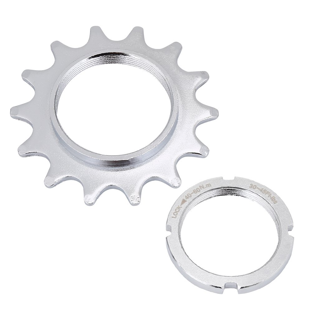 Single Speed Freewheel、高強度スチール自転車Flywheelスプロケットパーツの固定ギアバイク13 / 14 / 15 / 16t B07BQ4KD9V 16T