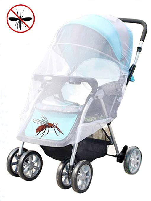 Baby Infants Stroller Safe Mesh Pushchair Anti-Insect Mosquito Net Netting Cover