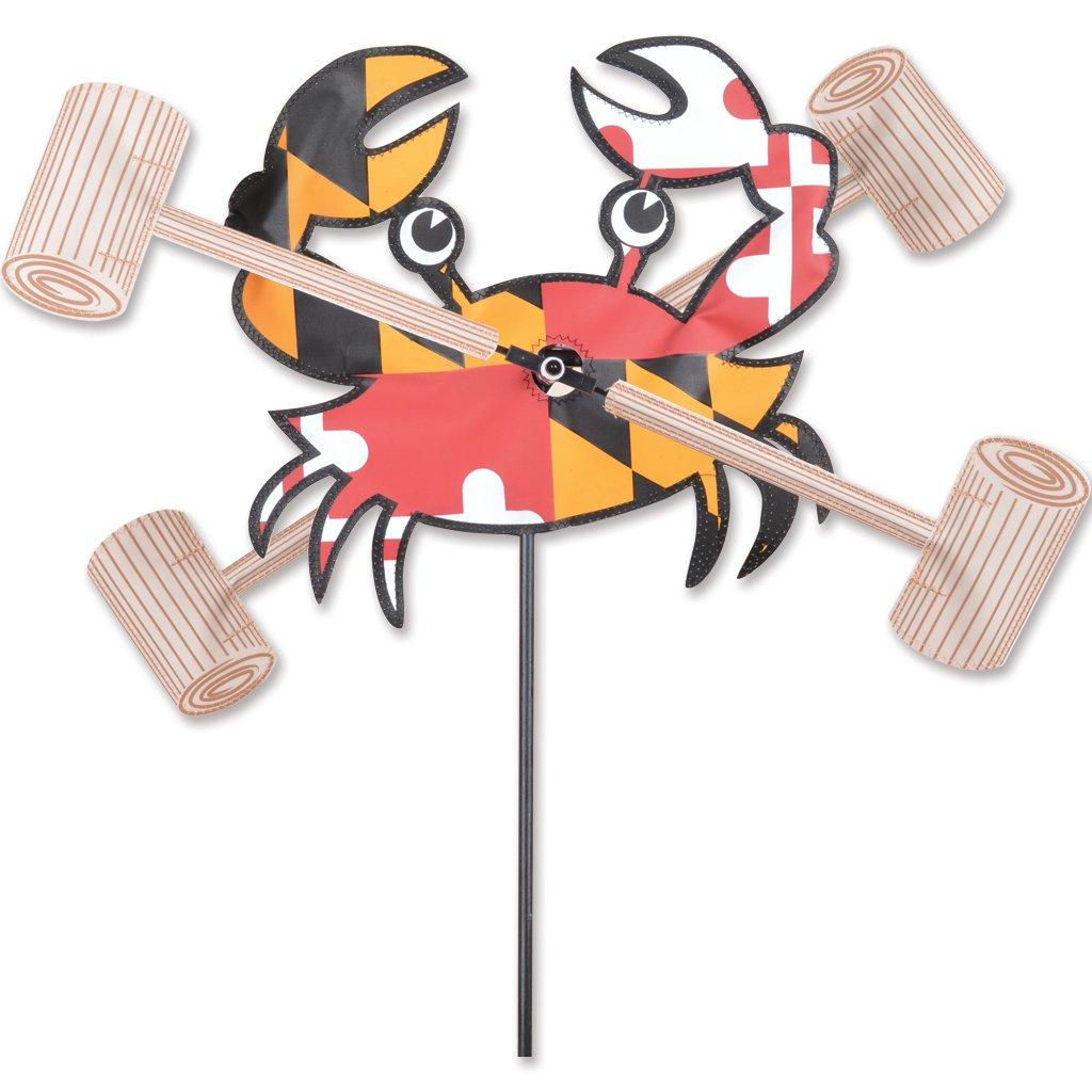 Whirligig Spinner – 12 in。メリーランド州Crab B07BB4Y6VQ