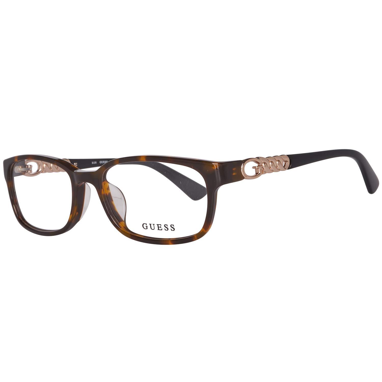 Gafas graduadas Guess GU 2558 -F 052 Dark Havana Clear Lens