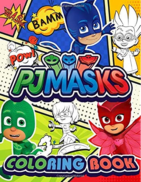 PJ Masks Coloring Book: Giant Coloring Books Featuring PJ Masks Superheroes  To Inspire Creativity And Relaxation: Phoenix, Green: 9798661281845:  Amazon.com: Books