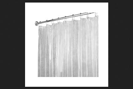InterDesign 14551 Clear Vinyl Shower Curtain