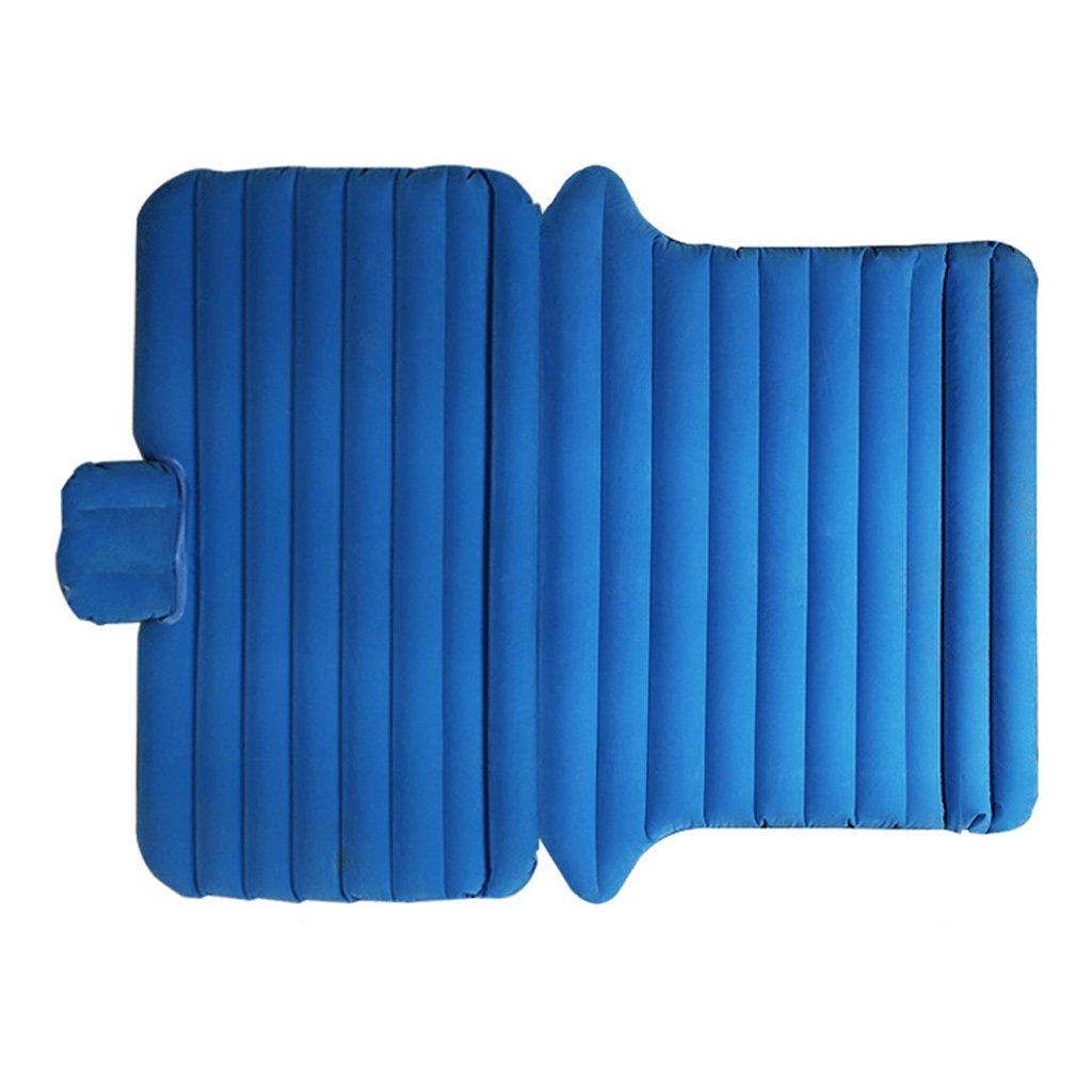 車のインフレータブルベッドSUVの車の旅行ベッドのトランクエアベッドSUVの寝台マットカーマットレス B07FCHCQF5 Blue Blue