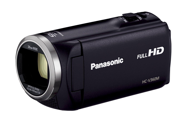 超爆安  パナソニック HDビデオカメラ V360M ブラック 16GB 高倍率90倍ズーム HC-V360M-K ブラック HC-V360M-K B00RYXHF8Q ブラック B00RYXHF8Q, 京都ジュエリー工房:acbdbc13 --- irlandskayaliteratura.org