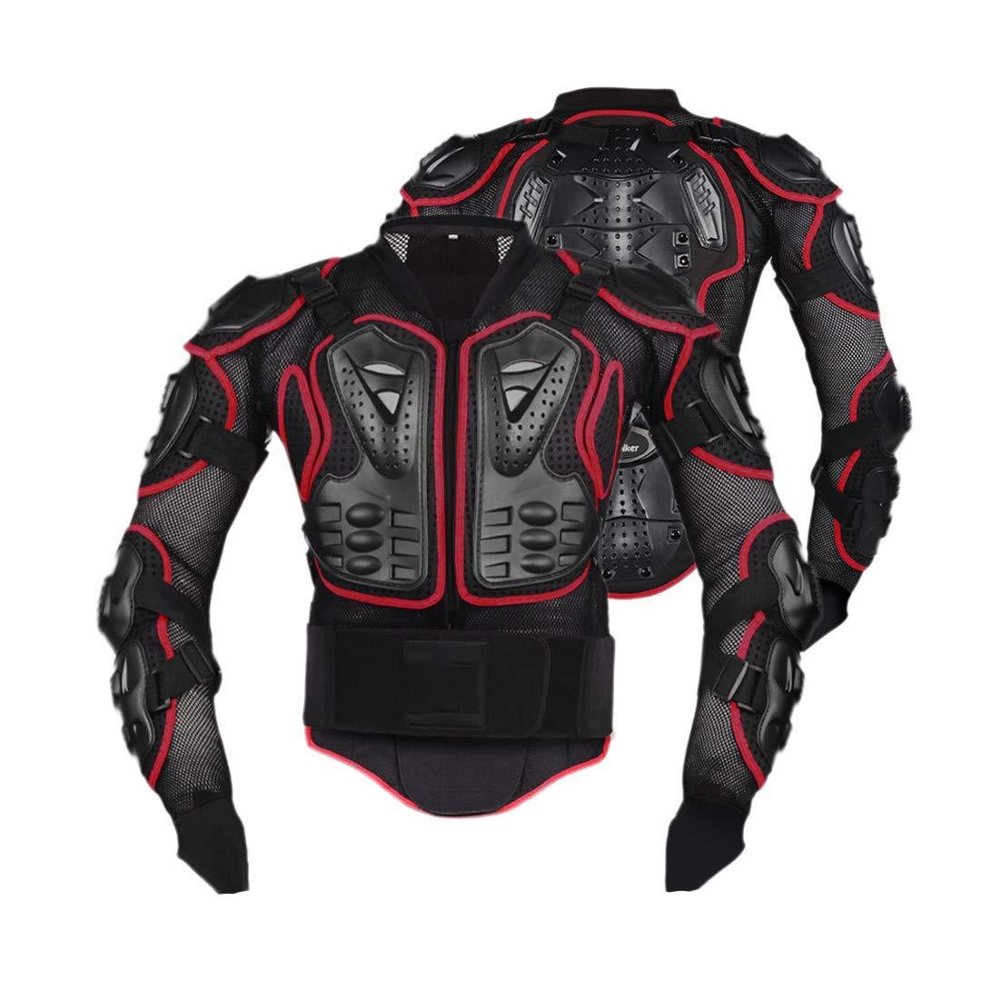 Nackenschutz Gratydallks Motorradjacken Motorrad-R/üstung Racing Body Protector Jacke Motocross Motorrad-Schutzausr/üstung