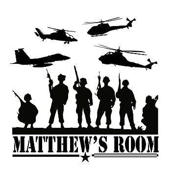 Amazoncom Custommade Personalized Army Marines Navy Vinyl Wall - Custom made vinyl wall decals