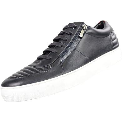 Hugo Boss - Zapatillas para Hombre Azul Azul Marino, Color Azul, Talla 45 EU: Amazon.es: Zapatos y complementos