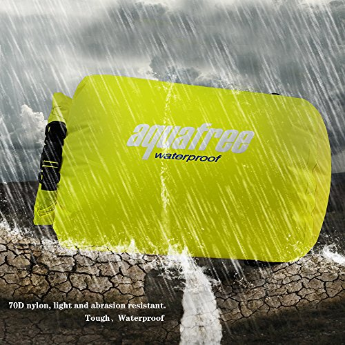 Aquafree Sandstrand Wasserdichte Tasche gelb v48Jr