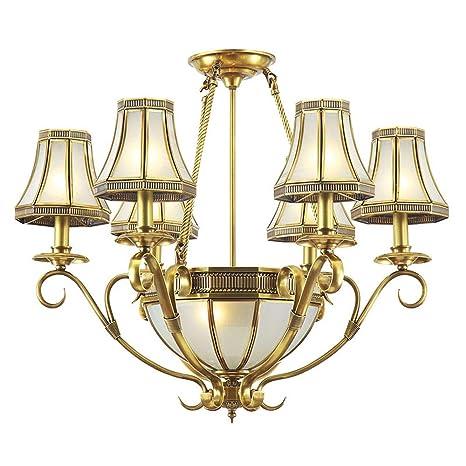 Luxury living room candelabros de cobre Europea clásica ...