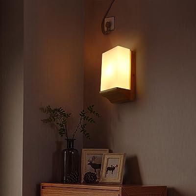 Lampe De Chevet Japonaise Simple Mur Chaleureux Sejour Balcon Allee
