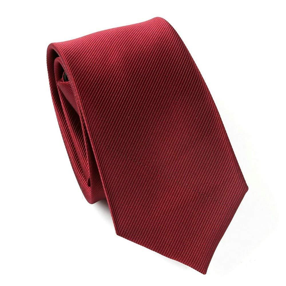 Xzwdiao Corbatas Negocio Formal para Hombres 6Cm Zip Tie ...