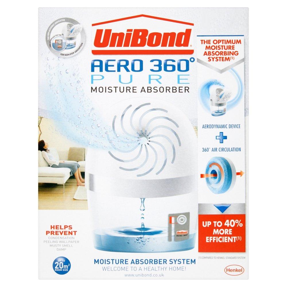 UniBond Aero 360 Pure Moisture Absorber Device With 1 Tab: Amazon.co.uk:  DIY U0026 Tools