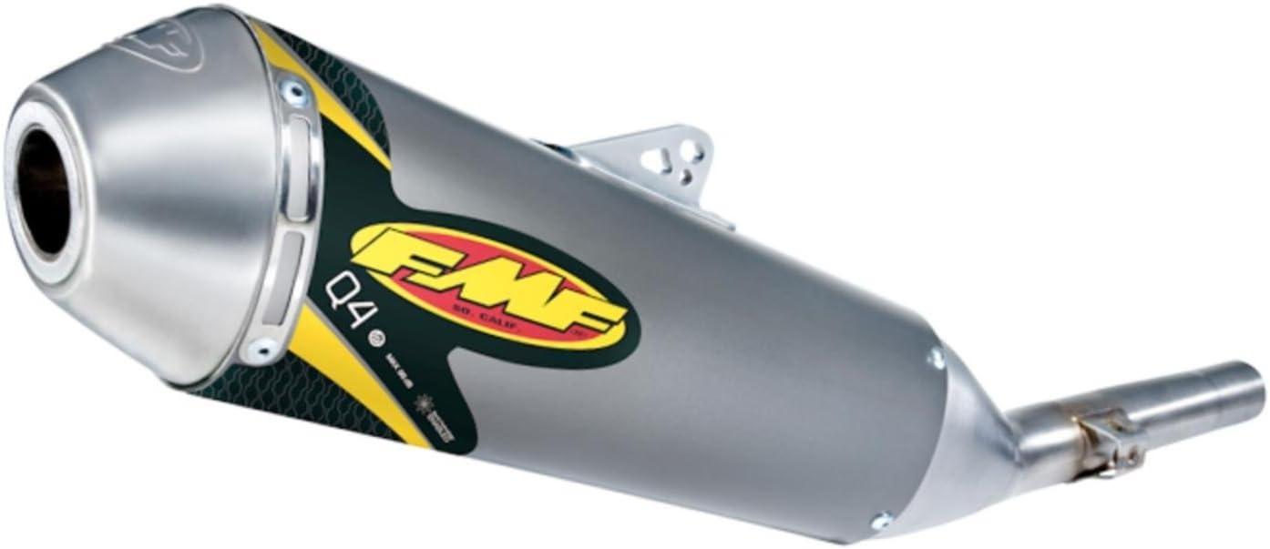 Stainless Midpipe FMF Racing Q4 Spark Arrestor Slip-On Aluminum 042321 by FMF Material