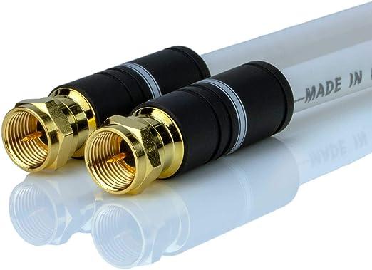 DCSk - Cable de conexión satélite Digital HDTV (125 dB ...
