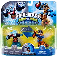 Skylanders SWAP Force 2 Pack (SWAP-able) Night Shift and Boom Jet