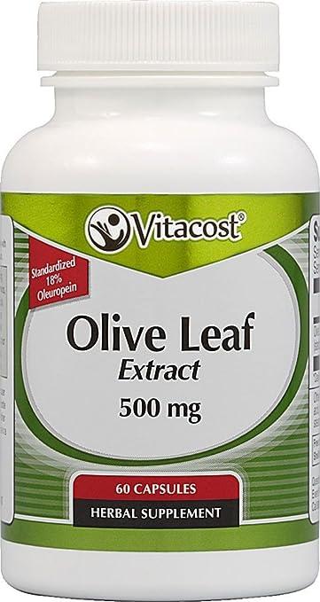 Vitacost Synergy Olive Leaf Extract - Standardized -- 500 Milligram - 60  Capsules