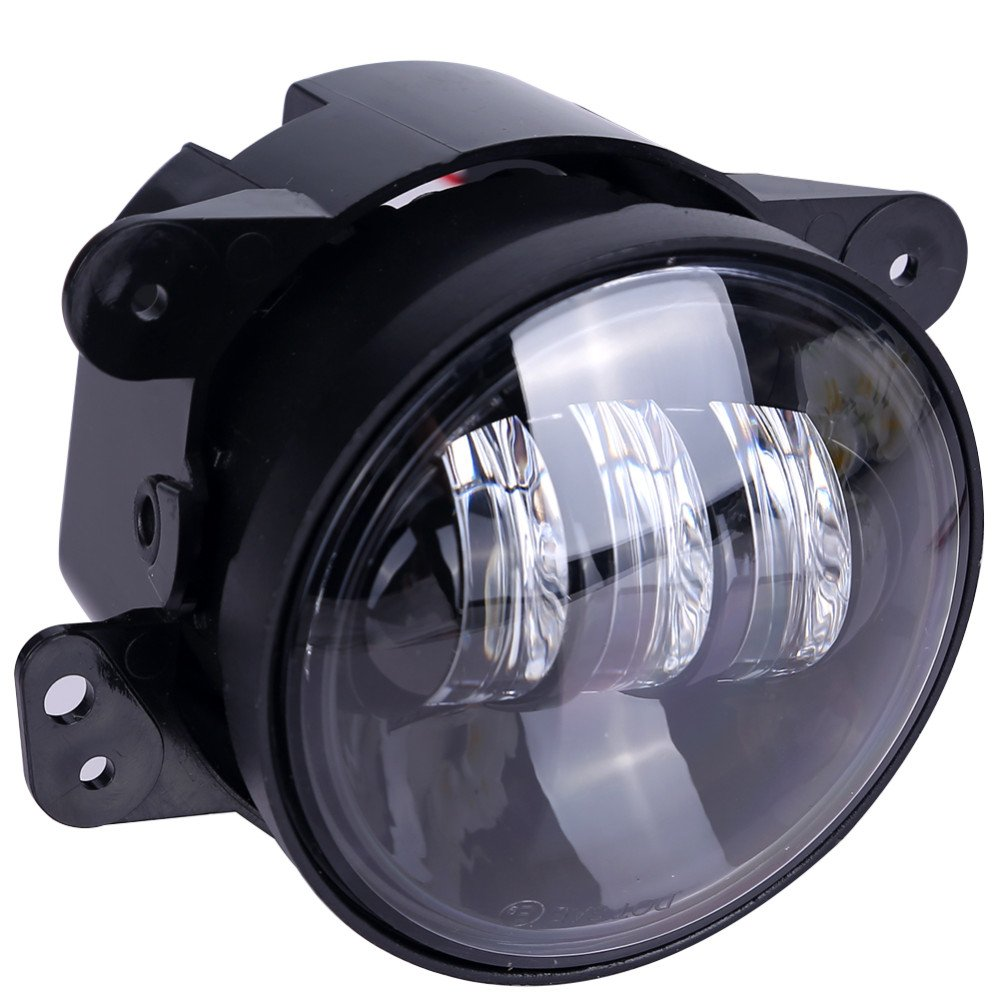 Cowone Osram 45w 4 Inch Led Fog Lights Len Projector For Jeep Wrangler Tractor Boat