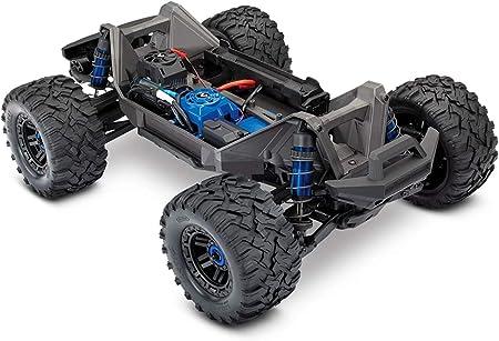 Traxxas Maxx TSM SR Grün Brushless RC Coche de maqueta Eléctrico Monster truck tracción en las cuatro ruedas (4WD) RTR 2,4 GHz