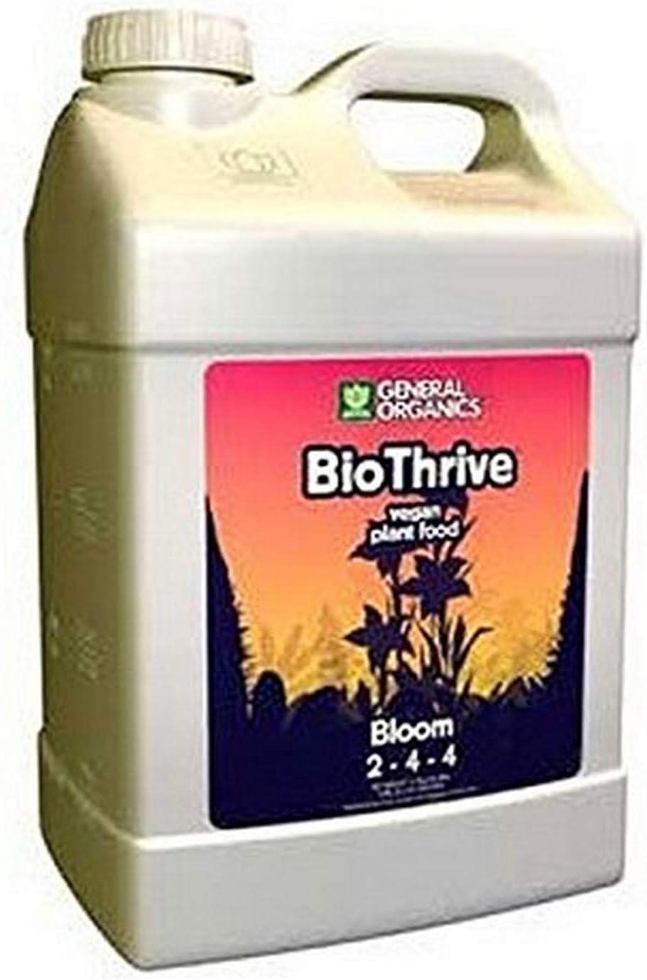 General Hydroponics GL56726814 Organics, 2.5-Gallon BioThrive Bloom Booster, 2.5 Gallon,Black