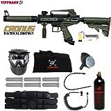 MAddog Tippmann Cronus Tactical Corporal Paintball Gun Package